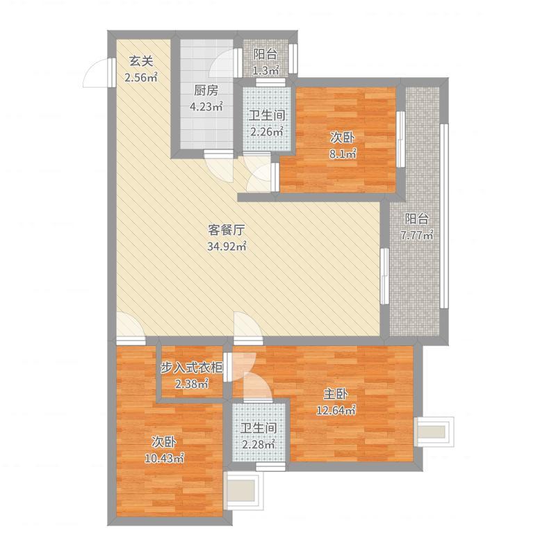 重庆_长江之星_2017-08-19-0822户型图