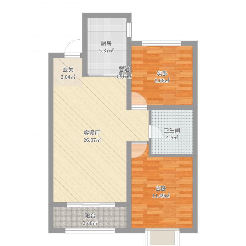 唐山_海都国际广场_2017-08-19-2104户型图