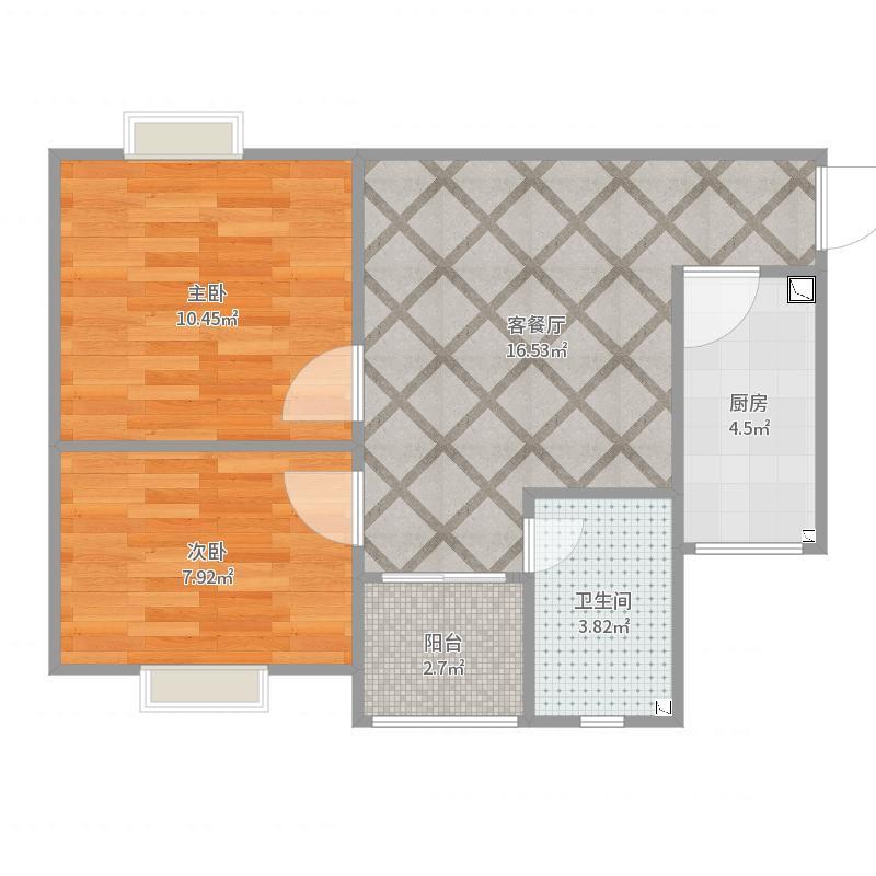 8264(现代风格-电视墙换位置-修改吊顶方案)201708户型图