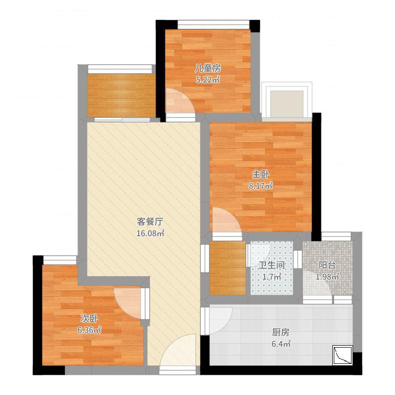 龙湖佰乐街户型图