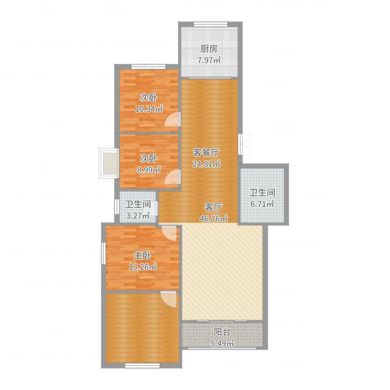 呼和浩特_奈伦公寓_2017-08-19-1830户型图