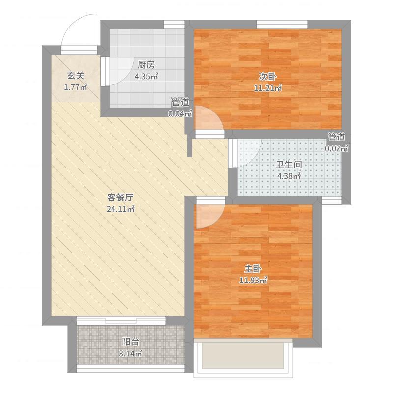 石家庄_长久中心_2017-08-20-1807户型图