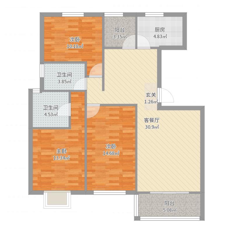 浦江世博家园二街坊-副本户型图