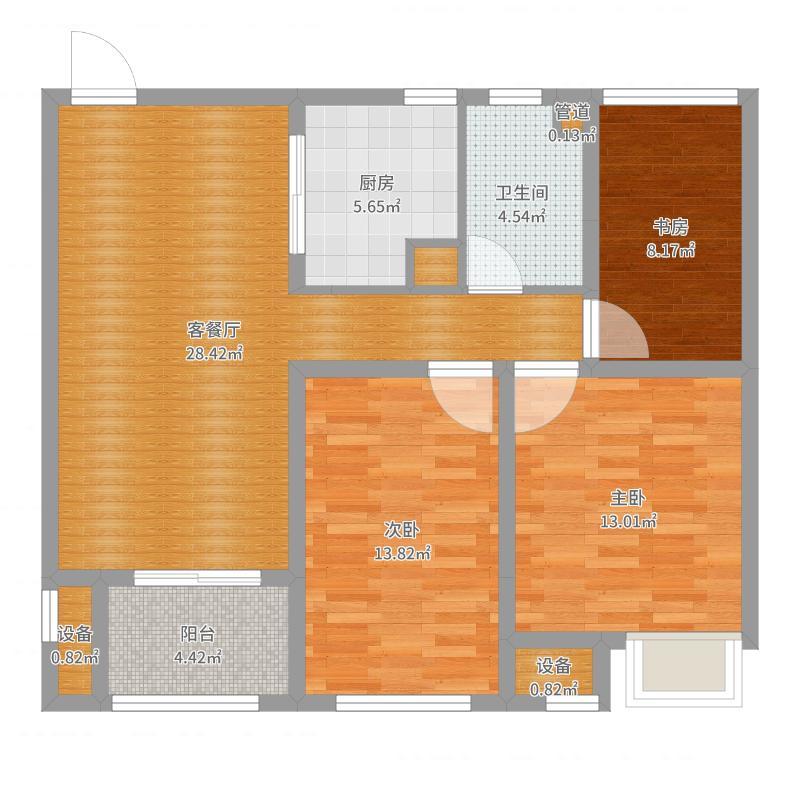 徐州_雨润新城_2017-08-21-1659户型图