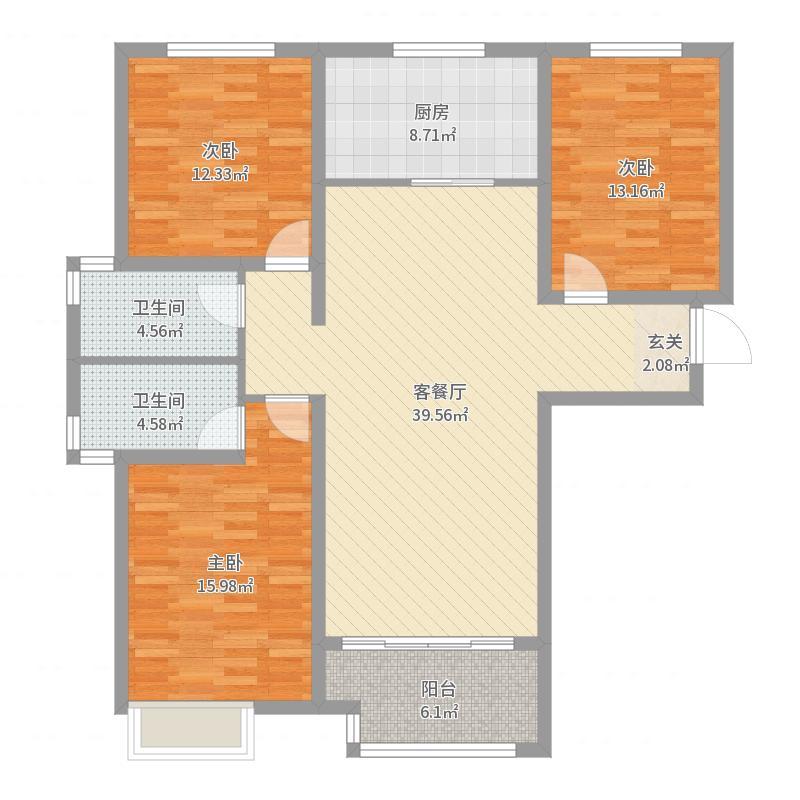 东城国际户型图