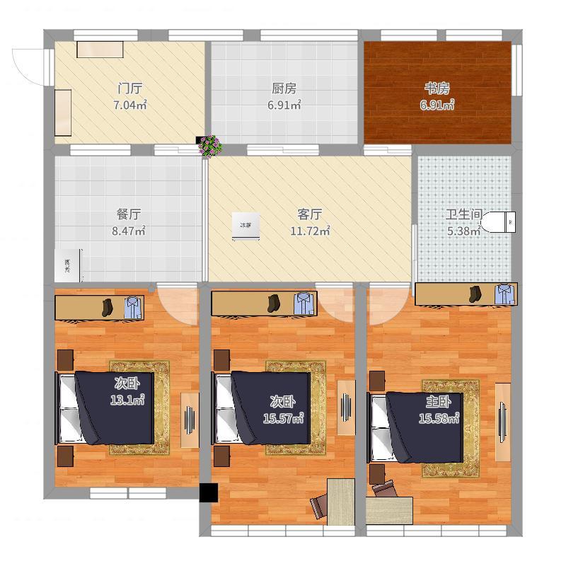 远洋独立客厅2017楼梯-NEW户型图