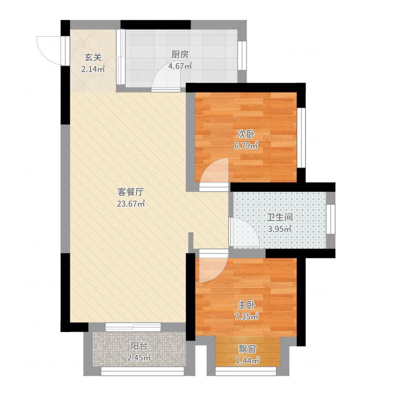 中国铁建玖城壹号-副本户型图