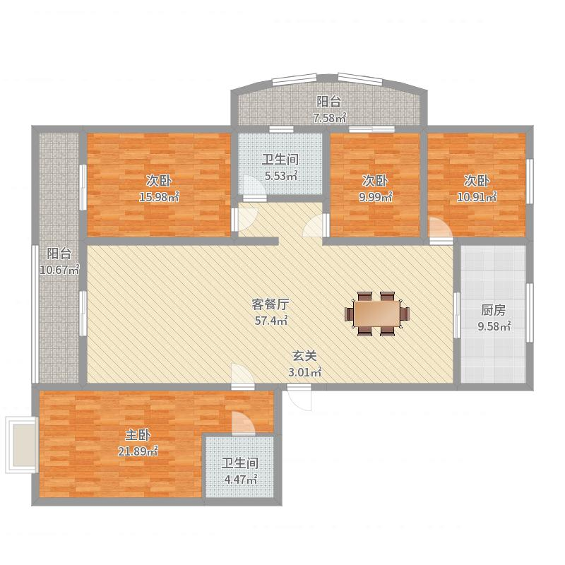 永美家园户型图