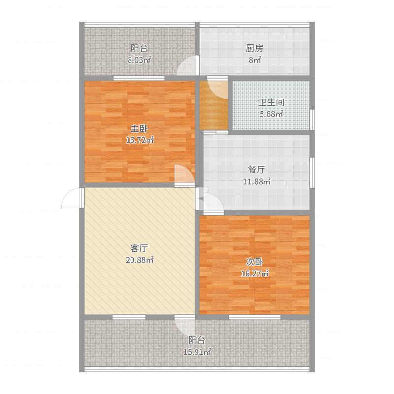 家属院4楼户型图