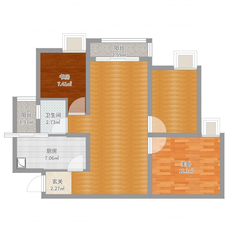 重庆_龙济小区_2017-08-22-1706户型图