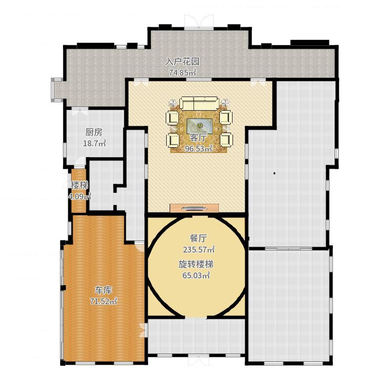 财富城堡户型图