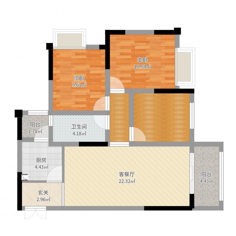 重庆_鲁能领秀城_2017-08-23-1650户型图
