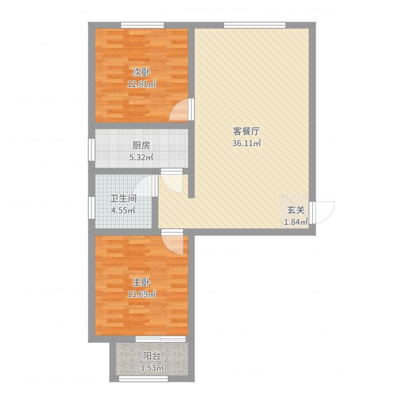 石家庄_厚德福城_2017-08-23-1740户型图