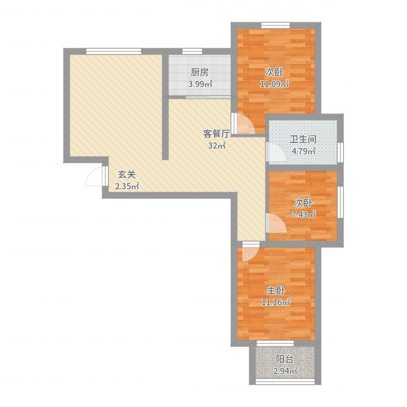 邯郸_嘉景城_2017-08-23-1811户型图