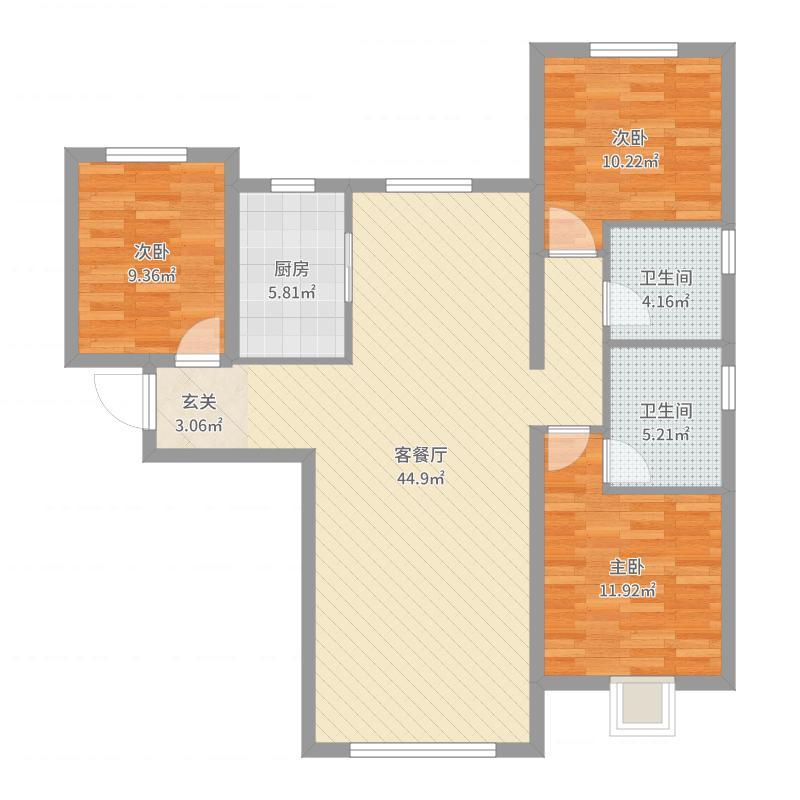北京_天润・香墅湾1号_2017-08-24-0031户型图