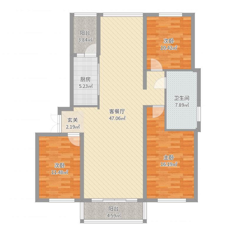 哈尔滨_宝宇天邑_2017-08-24-1632户型图