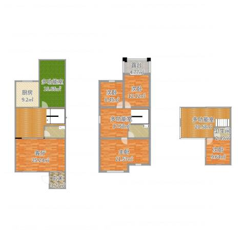 唐轩・温莎观邸4室1厅1卫1厨226.00㎡户型图