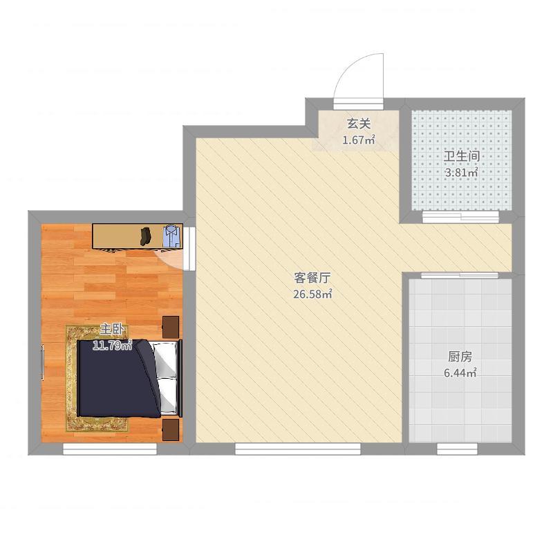 鑫城广场户型图