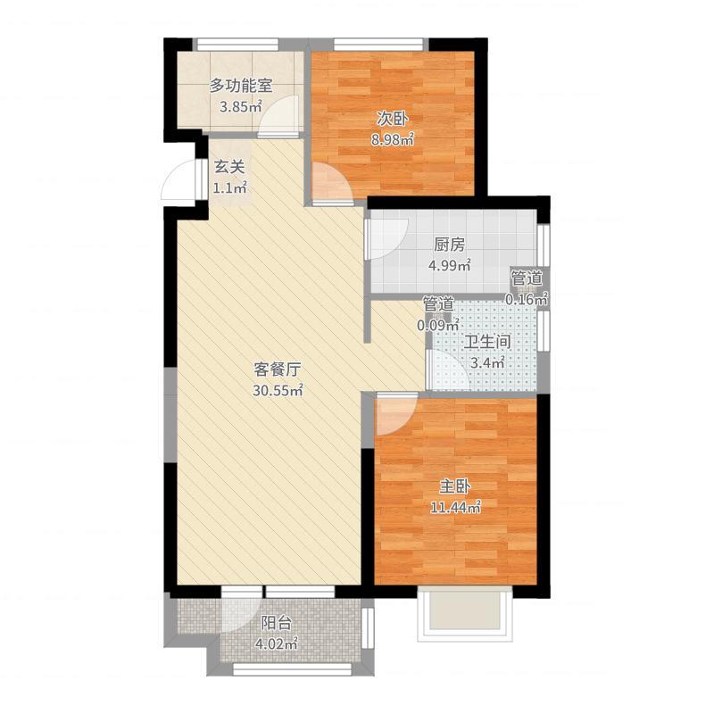 吉林昌邑万达广场户型图