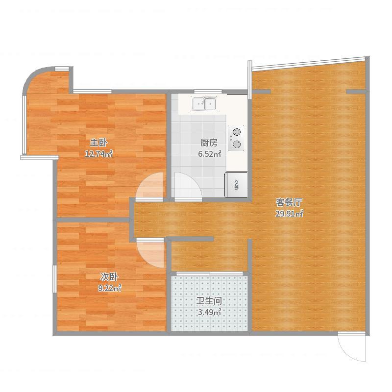 汇邦SOHO现代城户型图