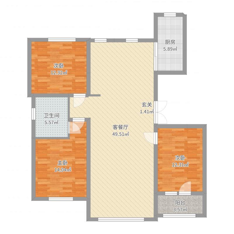 瀛洲第一城户型图