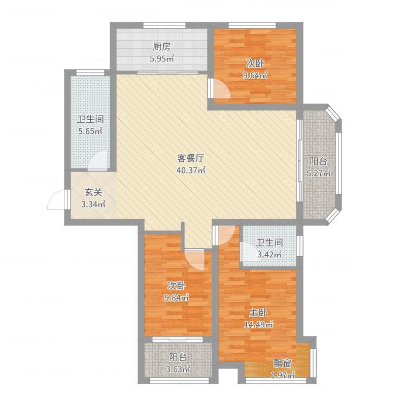 滨河公馆-副本户型图