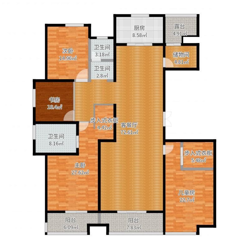 我自己家户型图