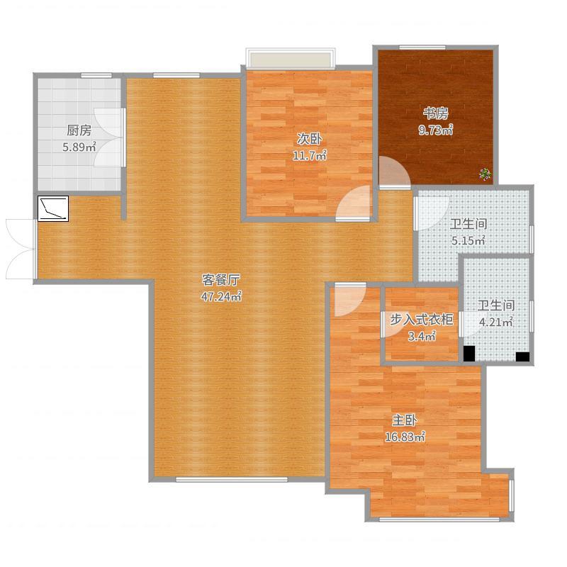 夏洛克公寓-副本1户型图