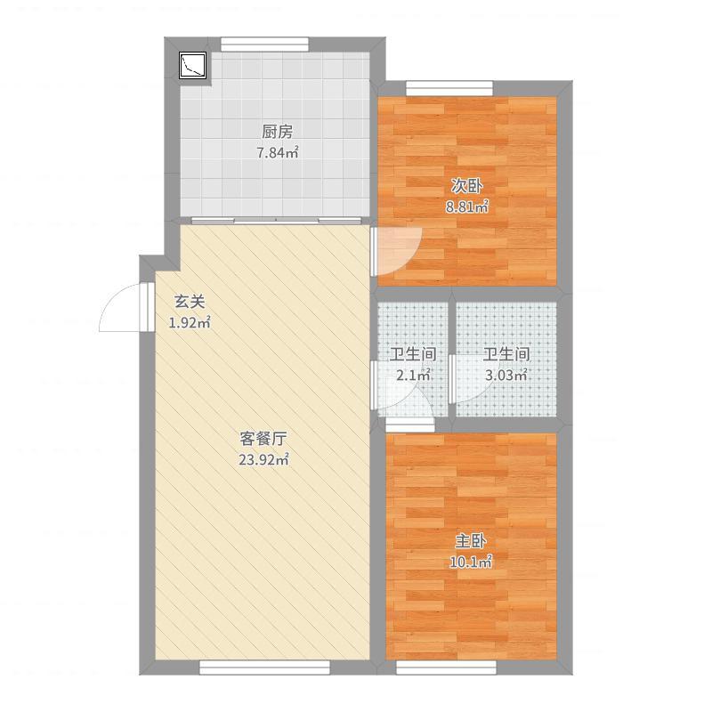 哈尔滨_永泰城4期_2017-09-20-1101户型图
