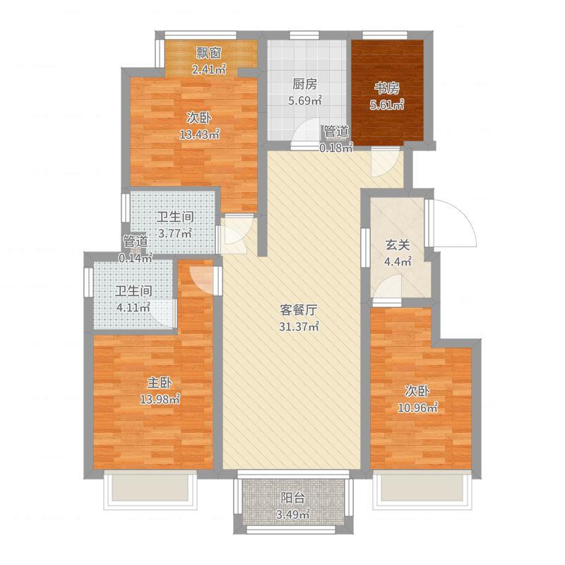 唐山_香醍溪岸_2017-09-20-1324户型图