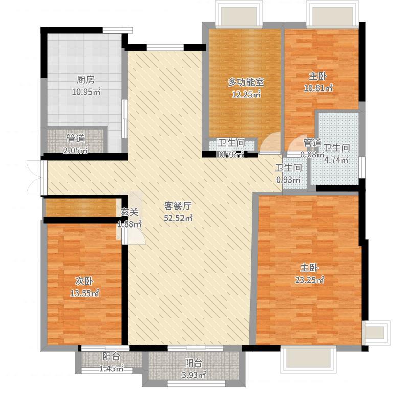 包头_保利・拉菲公馆三期_2017-09-20-1041户型图