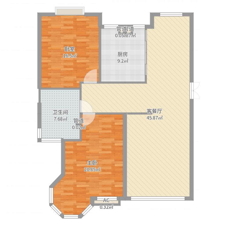 香槟美景139.89㎡香槟美景户型图F8户型图3室2厅2卫1厨户型3室2厅2卫1厨户型图
