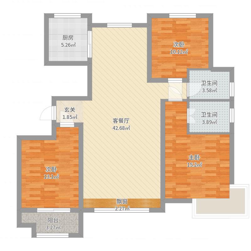 石家庄_中景香颂_2017-09-20-1549户型图