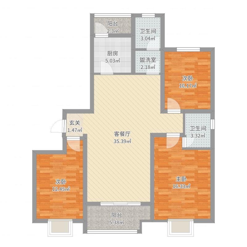 廊坊_力宝国际_2017-09-20-1612户型图