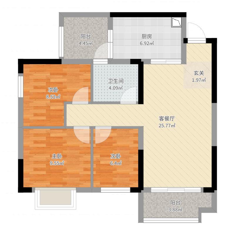 重庆_恒大山水城_2017-09-20-2127户型图