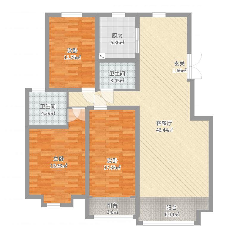 秦皇岛_碧景华庭_2017-09-21-0123户型图