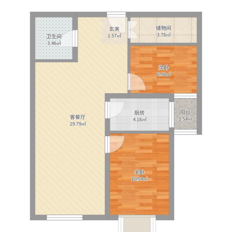 东洲家园户型图