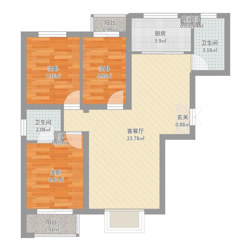 青青家园户型图