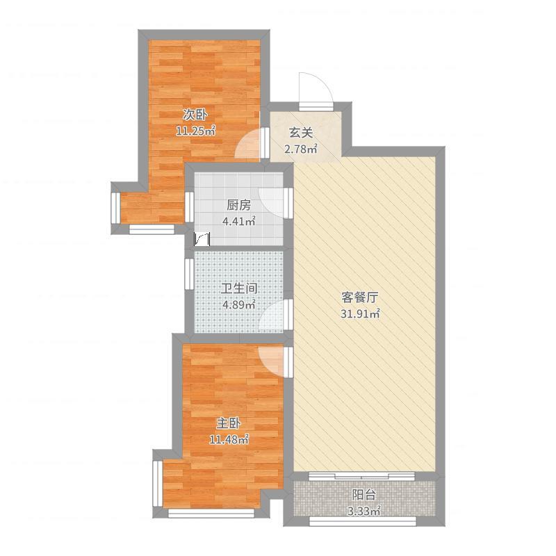 天津_新开门_2017-09-21-0927户型图