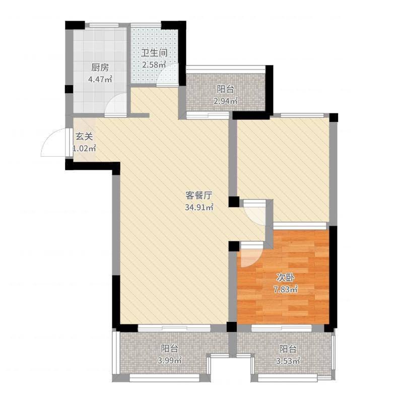 绿地新里悦峰公馆项目户型图
