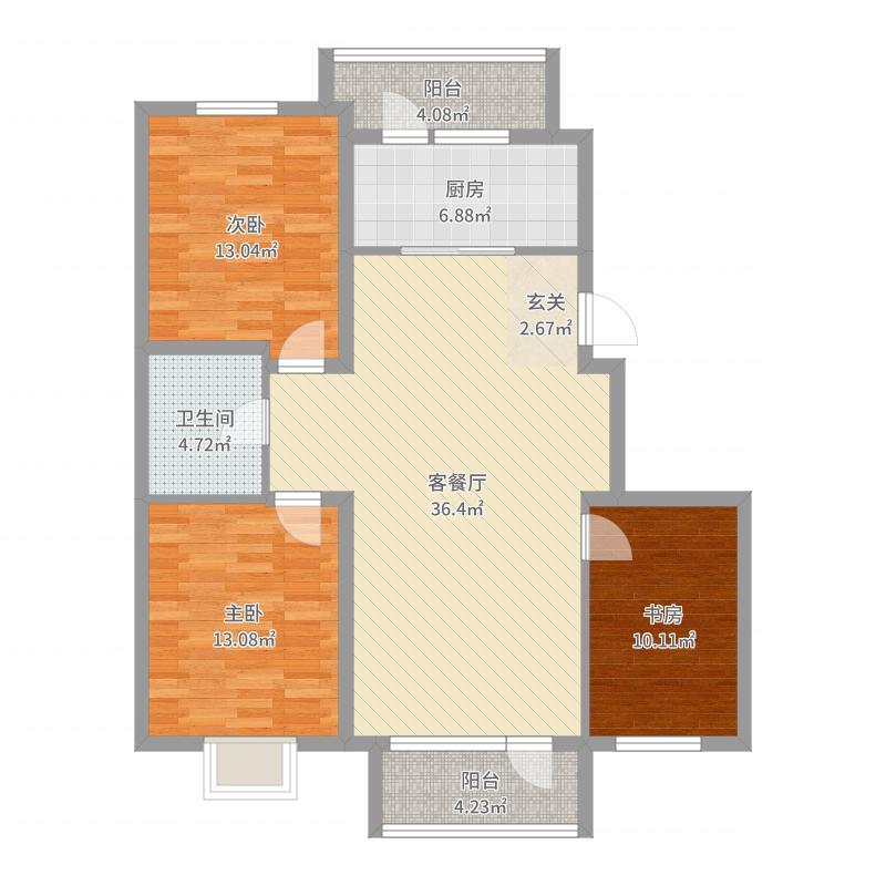 朝阳_宏运・凤凰新城一期_2017-09-21-0907户型图