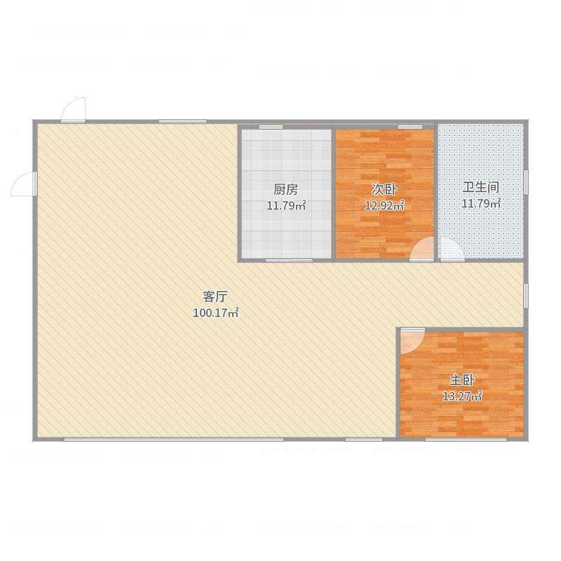 汇银东第户型图