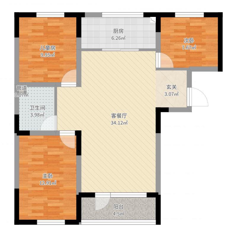 广泽紫晶城户型图