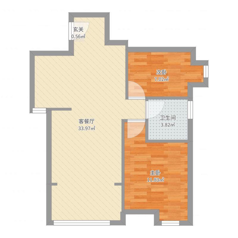 天润城十二街区户型图