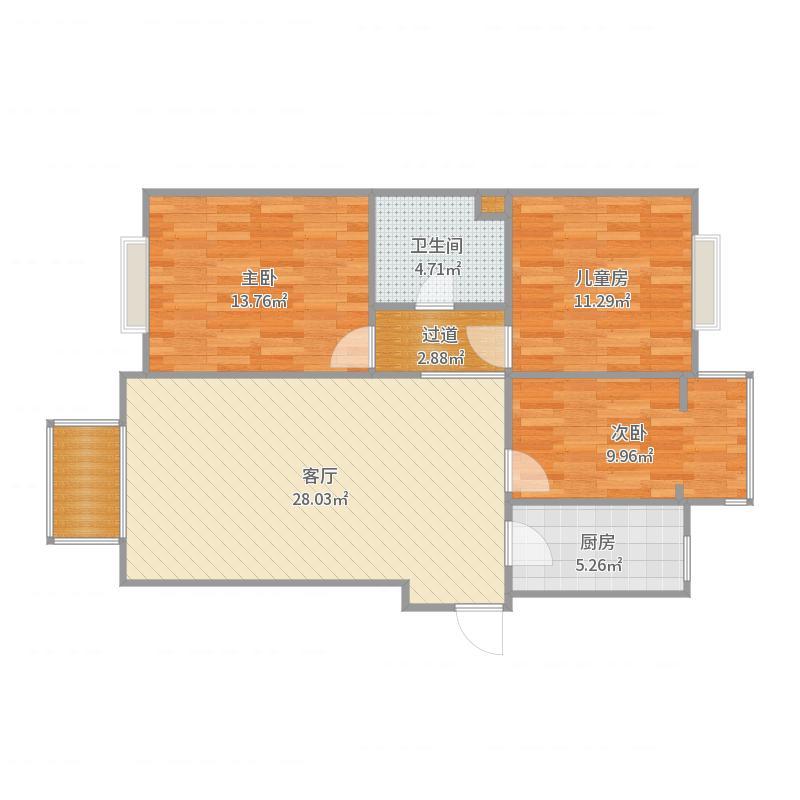 鸿顺园西区35号楼-副本户型图