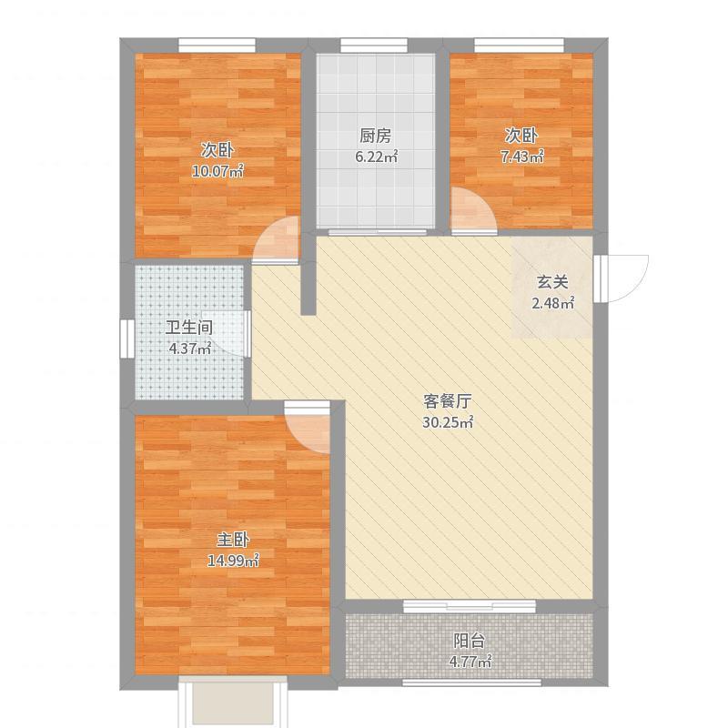 唐山_海都国际广场_2017-09-22-1007户型图