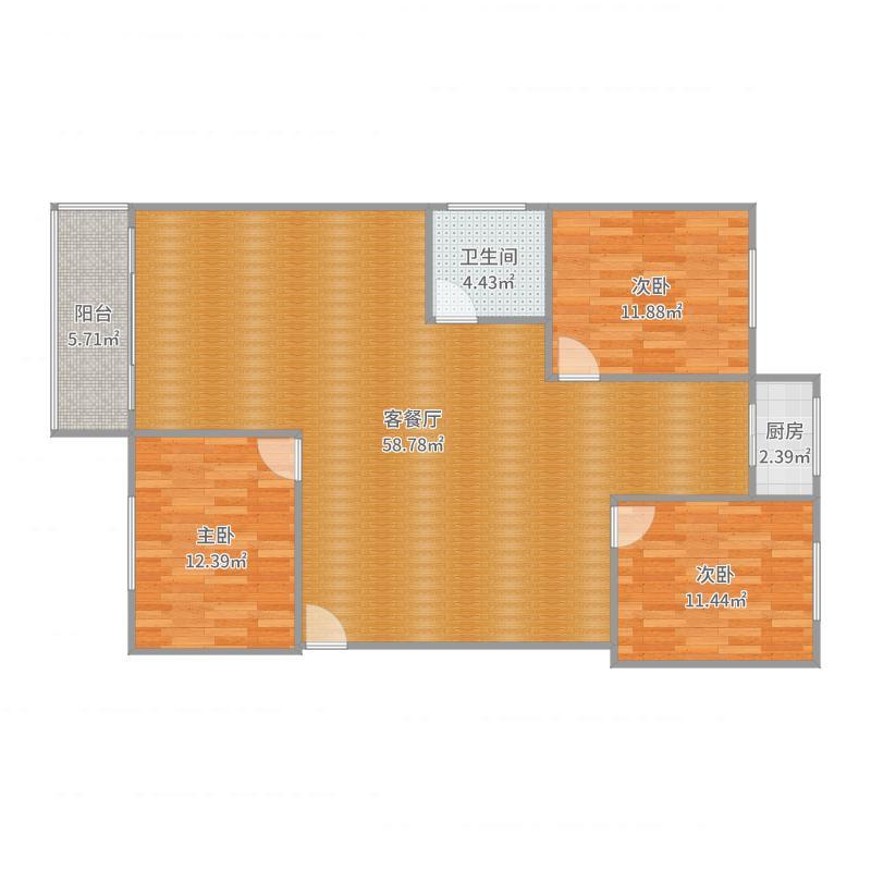 西宁老总房_2017-09-22-1435户型图