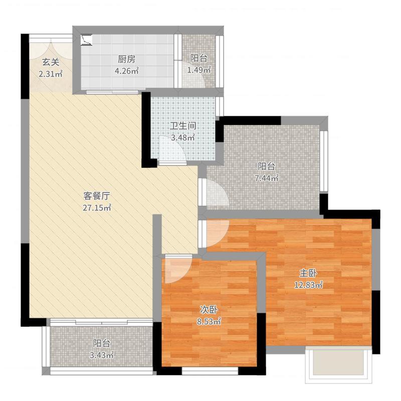 重庆_乾和珑湾_2017-09-22-1316户型图