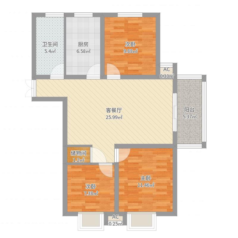 南京_润泰_2017-08-15-1727-副本户型图