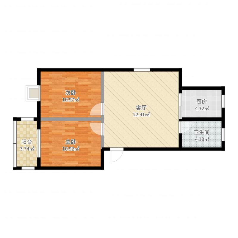 新新家园-版本2户型图
